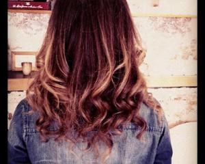 Balayage haircoloring!